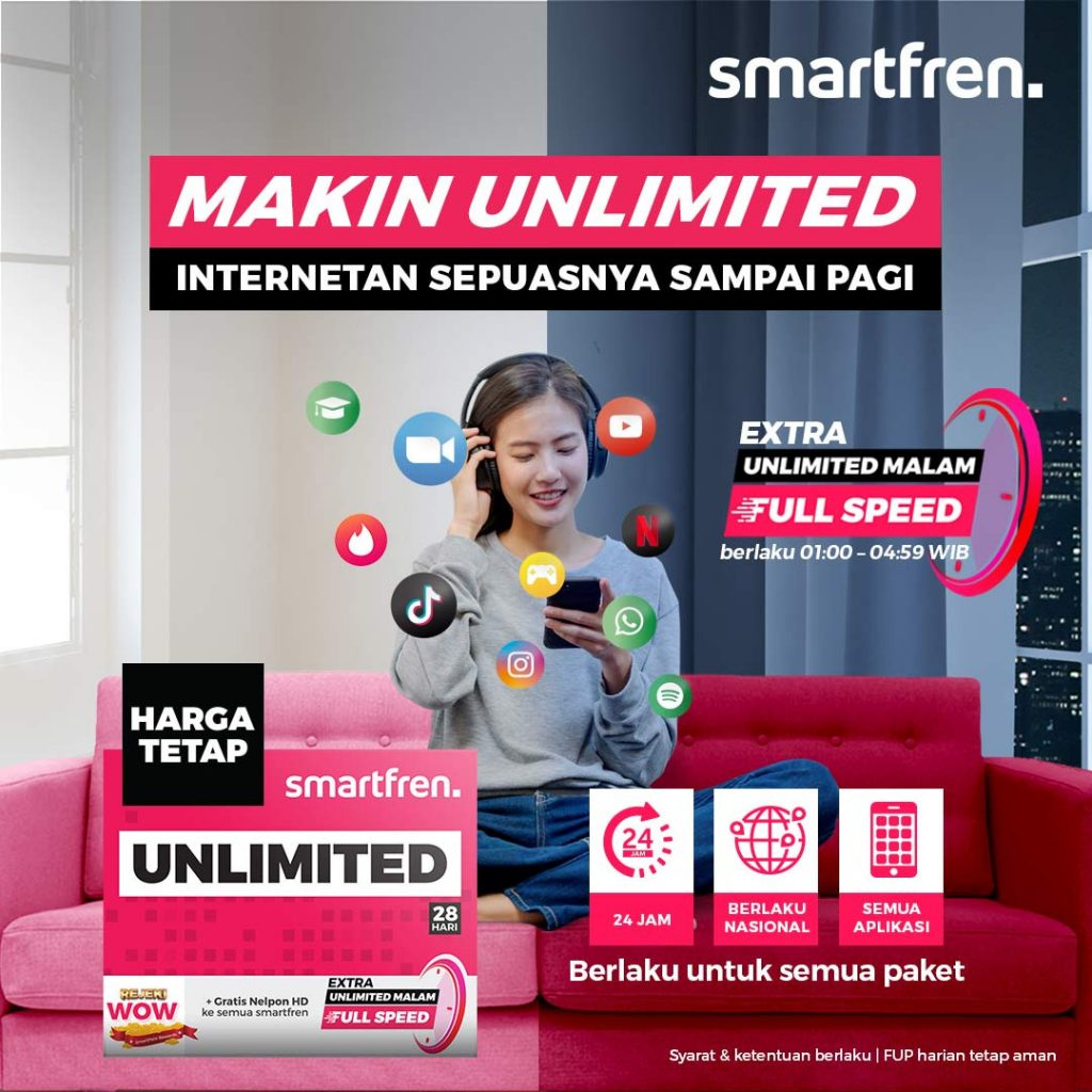 extra unlimited malam